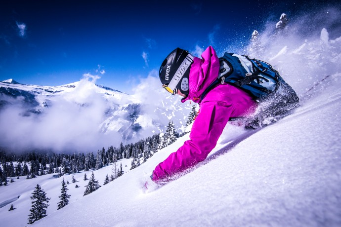 Freeride i powder
