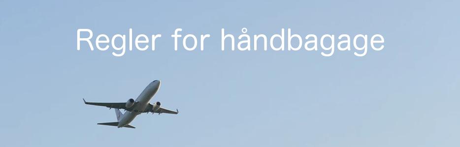 håndbagage fly størrelse