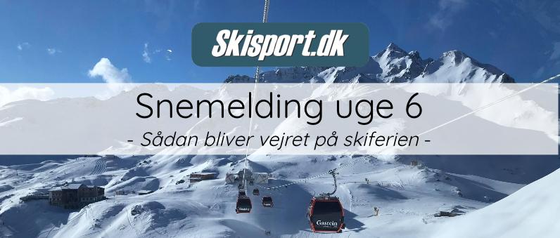 Snemelding Uge 6 2019 Sne I Alperne Og I Norden