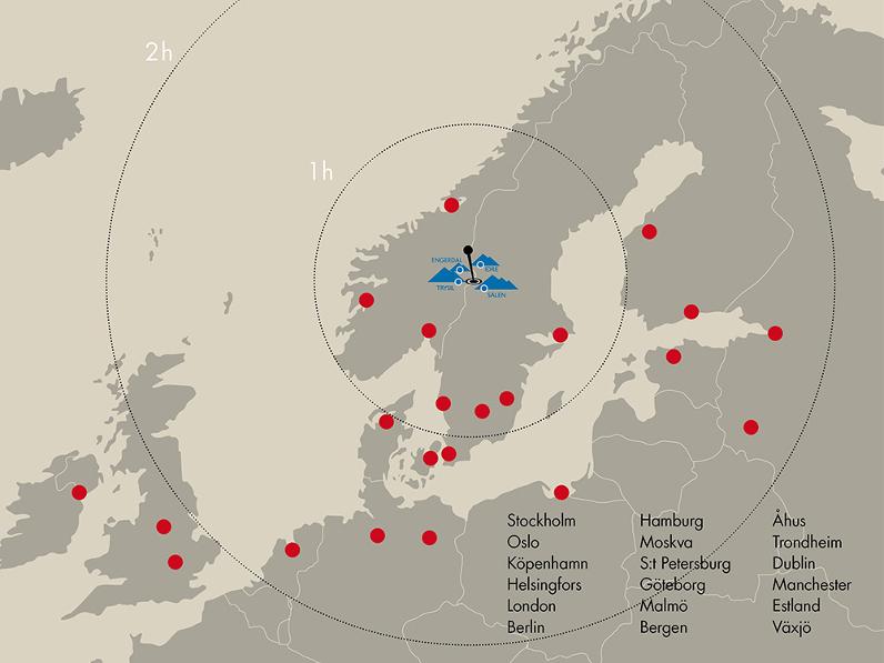 De Forste Flyruter Er Pa Plads Til Scandinavia Mountains Airport