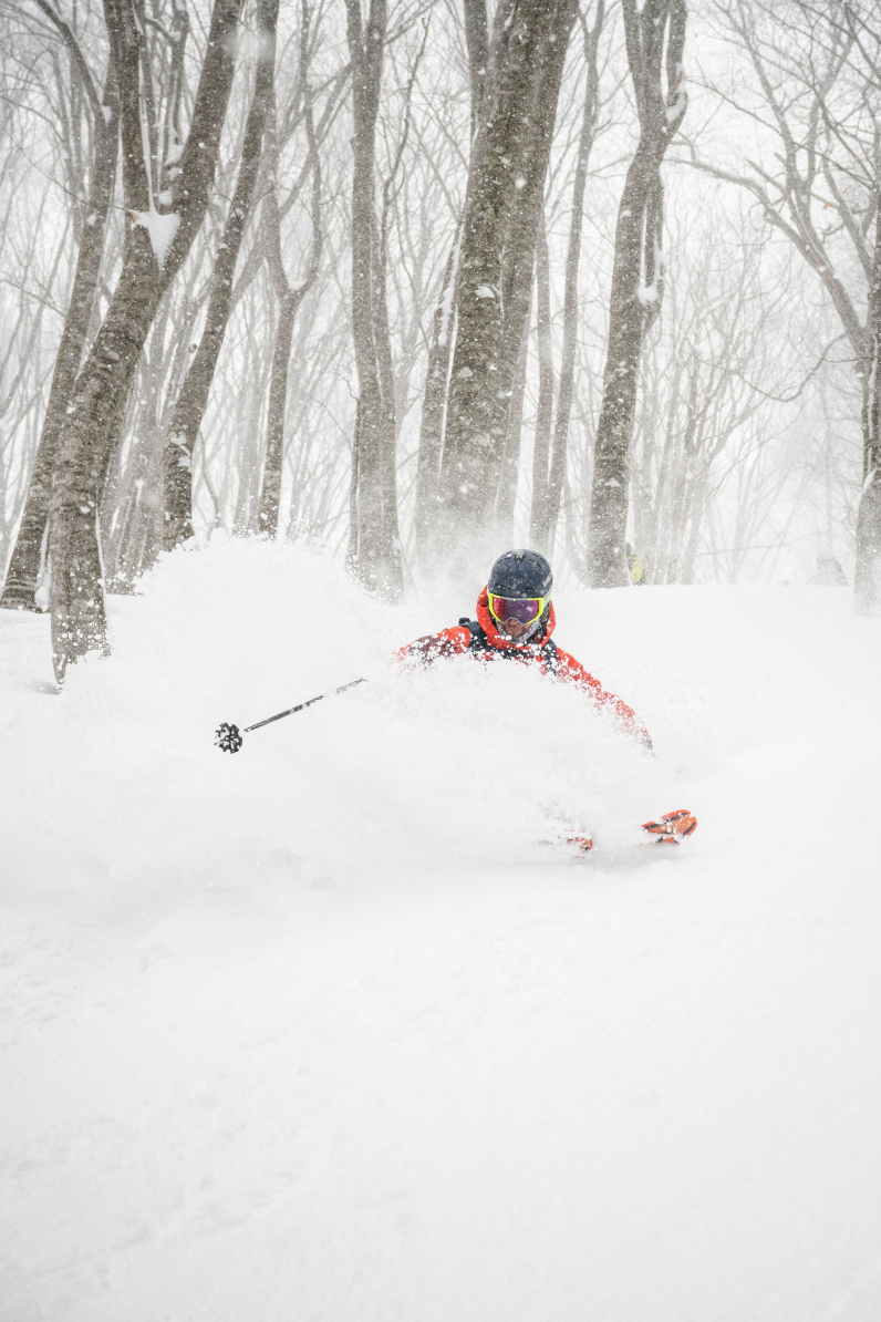 Datoen er sat for powder turen til Central Japan